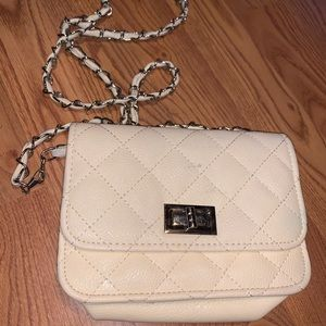 White purse!